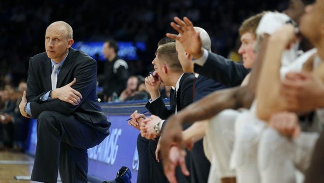 Xavier coach Chris Mack on Thursday was named the Basketball Times' National Coach of the Year.