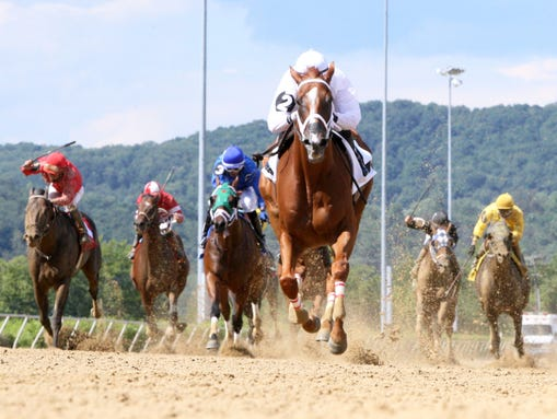 Work Just About All Week wins Saturday from Mountaineer.
