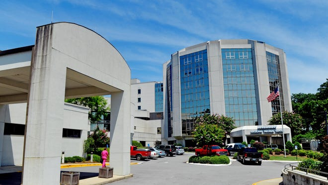 Riverview Regional Medical Center is seen in a file photo from 2013.