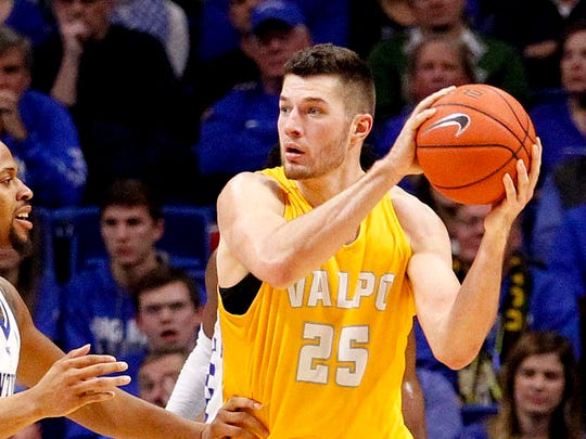 Alec Peters may well become Valparaiso's career leading scorer.