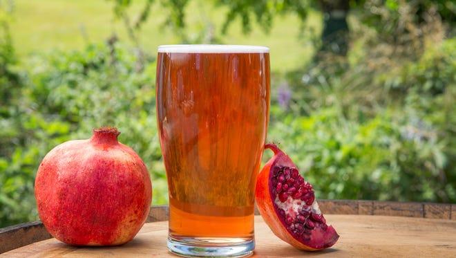 McMenamins has released its seasonal Pomegranate Cider.