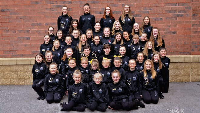 The In Motion Dance Studio 2016-17 Elite Competition Team won numerous awards at three regional competitions this spring.