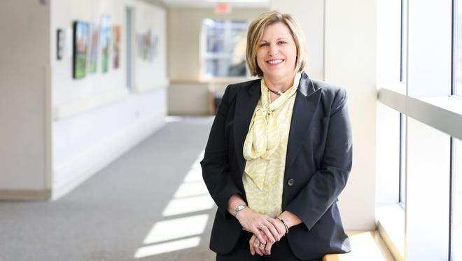Julie Georgoff is the new vice president of finance and chief financial officer at Magruder Hospital.