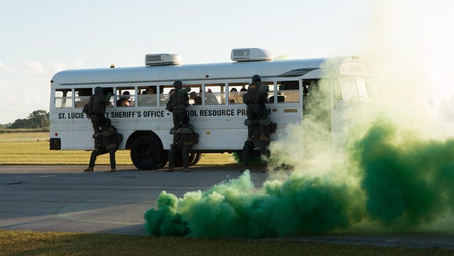 You'll be able to watch a SWAT demonstration at the safety fair.