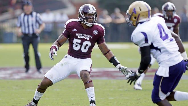 Mississippi State middle linebacker Benardrick McKinney is on the Bednarik Award watch list, announced Monday.