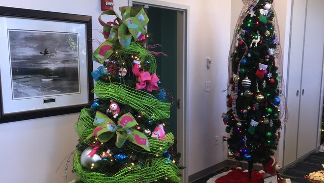 Kiddie Stockings is on display and still for sale at the PSC Child Development Center.