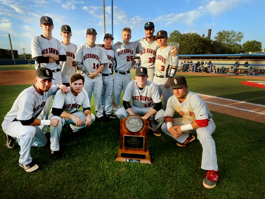 The Stewarts Creek baseball team poses with the Runner-up