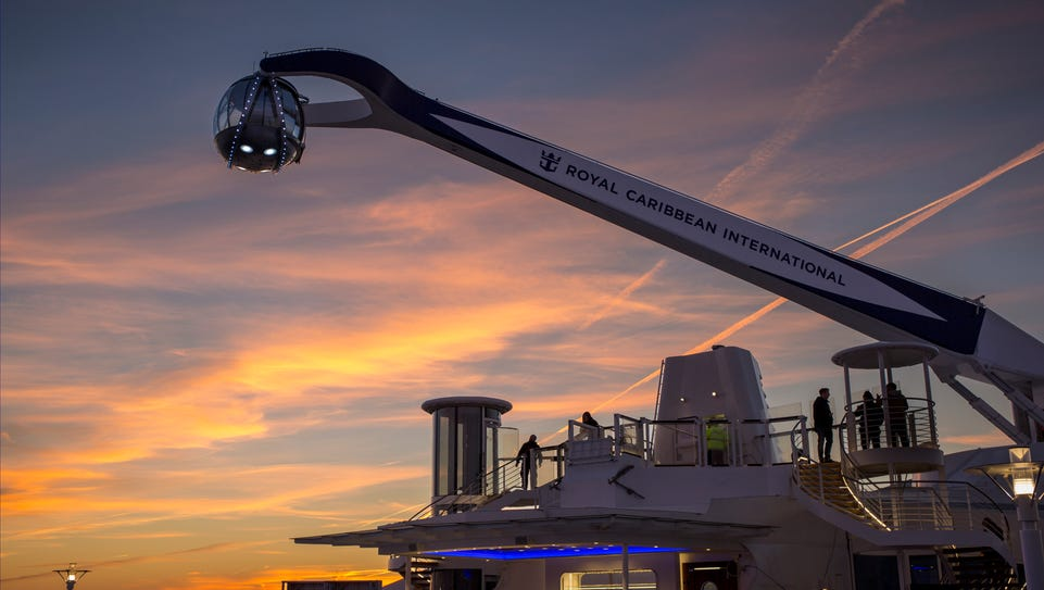 The North Star ride on Royal Caribbean's Quantum of