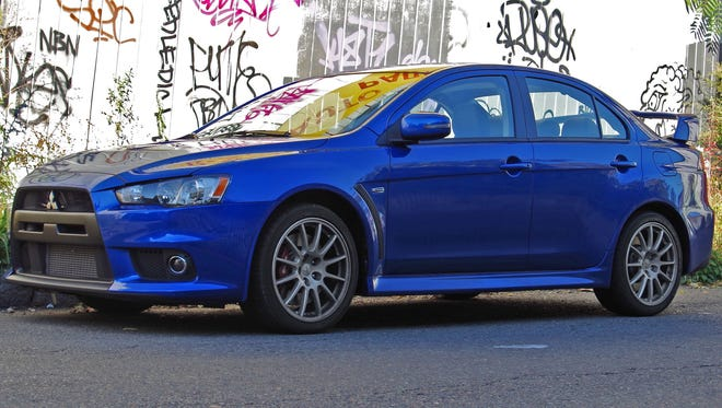 Mitsubishi is selling off the last few Lancer Evolutions