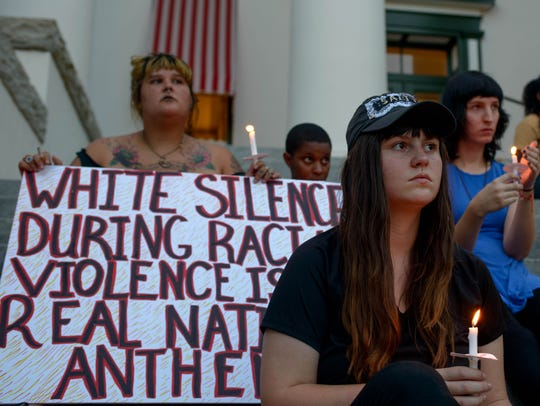 To commemorate the nine black victims of the Charleston