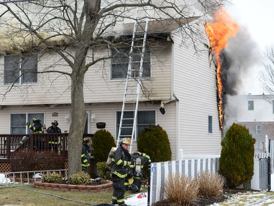 Fire in Saddle Brook