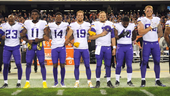 The NFL wants all of its players to stand for the national anthem. How will they achieve that?