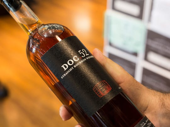 The 179 bottles of the first Doc.52 bourbon release sold out in a day and a half.