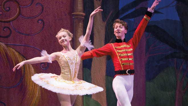 MainStage Academy of Dance presents The Nutcracker Ballet at 7 p.m. Friday, Dec. 8, 1 p.m. and 7 p.m. Saturday, Dec. 9, and 2 p.m. Sunday, Dec. 10.