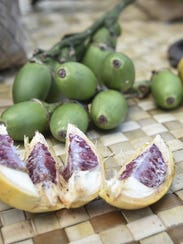 Betel nut varieties are shown in this file photo. The