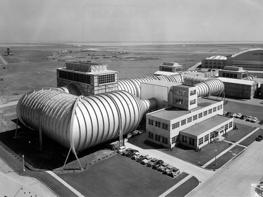 The High Speed Wind Tunnel at NASA's Ames Research