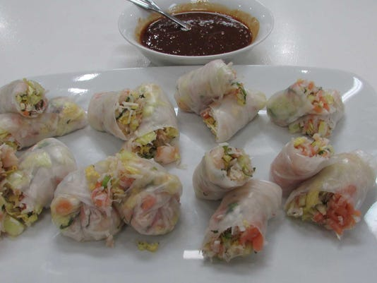 Shrimp + Veg Spring Rolls