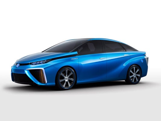 2015 Toyota FCV sedan