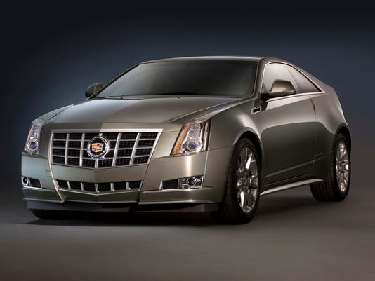 0828 2014 Cadillac CTS Coupe