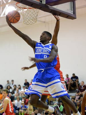 Michigan State guard Eron Harris was arrested on drunk driving charges early on July 1, hours after playing in the opening night of Lansing's Moneyball Pro-Am.