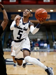 JSU guard Paris Collins averaged 12.3 points a game last year as a junior.