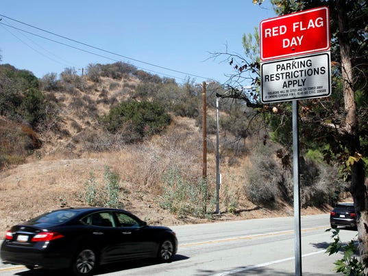 AP California Fire Danger
