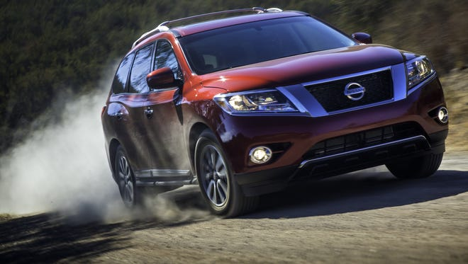 The 2013 Pathfinder is being recalled