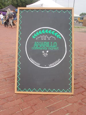Center City of Amarillo, Inc. presented a July 4 edition of the Amarillo Community Market at the Santa Fe Depot on Saturday.
