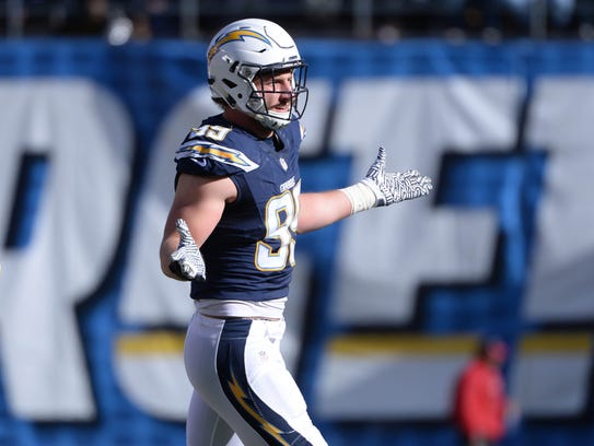 Los Angeles Chargers defensive end Joey Bosa: Defensive