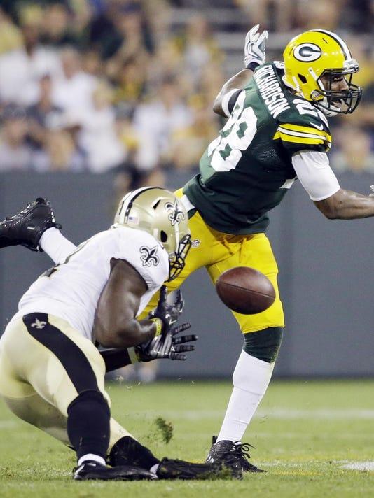 Saints Packers Footba_Font