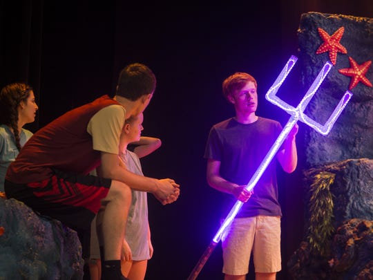 "Students rehearse for their summer performance of ""The"