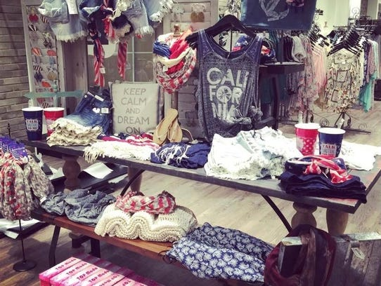 The boutique Apricot Lane will open in the Holiday