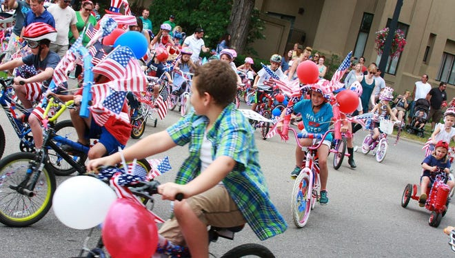 The Oaklawn Hospital Bike, Wagon and Pet Parade is held annually on July 4.