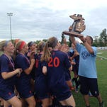 Flint Powers Catholic girls soccer cruises past Freeland to win Div. 3  title