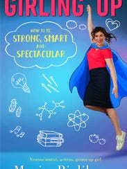 Cover of Mayim Bialik's new book, 'Girling up - How
