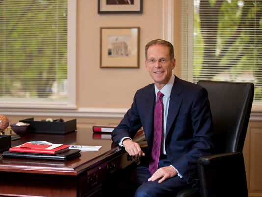 BSU President Geoffrey S. Mearns May 2018