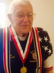 World War II veteran John Lorber of Merritt Island