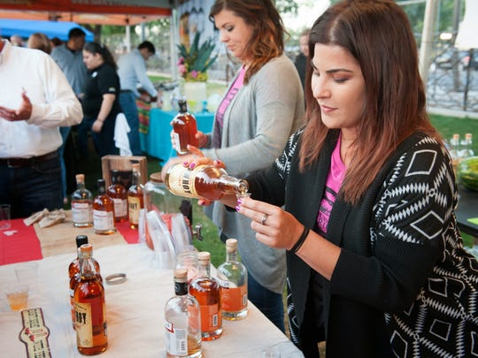 Congenial Spirits participated in the Chandler Craft Spirits Festival in downtown Chandler in 2014.