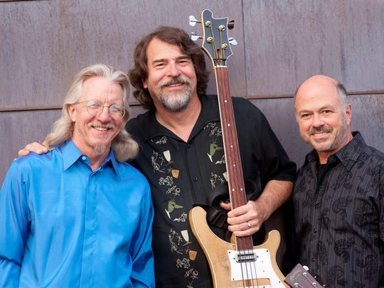 Chris Brubeck, center, and Triple Play will perform