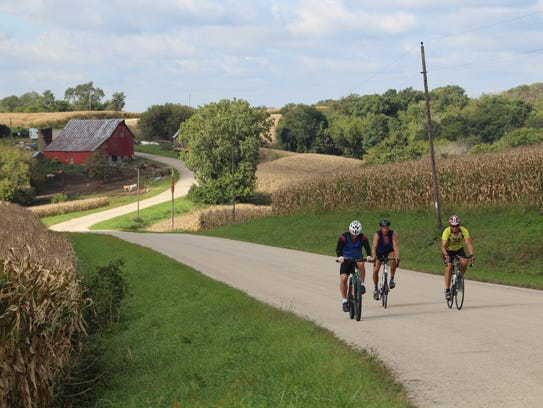 The BRAVE bike ride takes cyclists on scenic backroads