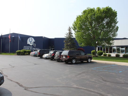 The Colts practice facility on West 56th street in