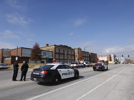 Firefighters responded to Pipkin Middle School in Springfield