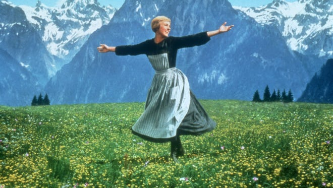 """Julie Andrews stars as Maria in the classic 1965 musical """"The Sound of Music,"""" which received a new 50th anniversary release on Blu-ray this week."""