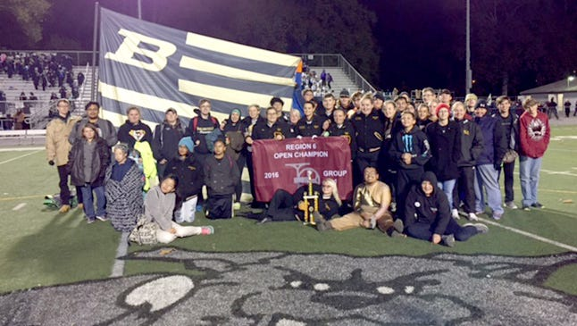 The Biglerville High School Marching Band captured their 11th Tournament of Bands' Region 6 championship since 2004.  Their score of 93.85 topped Donegal's 89.85 and Trinity's 81.8. Biglerville also won the awards for High Music, High Auxiliary and High Visual.