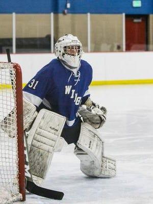 Waukesha goalie Garrett Larsen claimed second-team all-area honors last year.