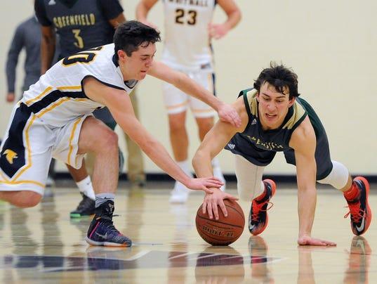 Boys Basketball: Greenfield at Whitnall