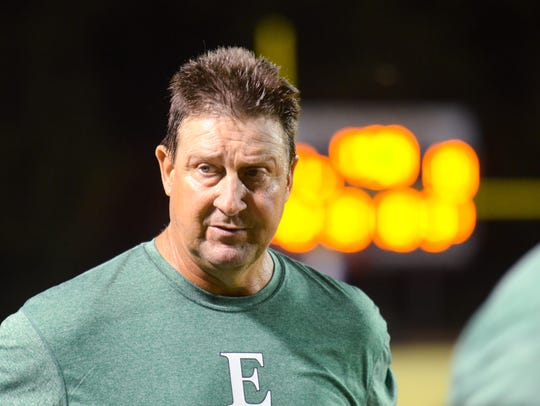 Eunice coach Paul Trosclair has his Bobcats off to a 4-0 start with the No. 1 power ranking in Class 3A these days.