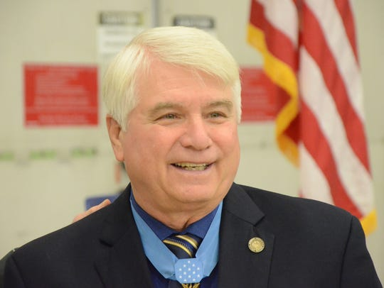 James C. McCloughan of South Haven, Medal Of Honor