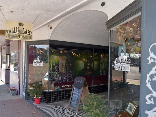 Tallulah's is located at 107 North Union Street Suite A on Canton Square.