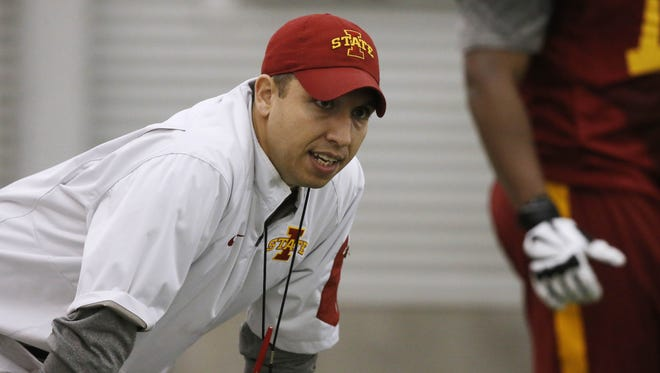 Iowa State coach Matt Campbell and the Cyclones will have a closed scrimmage on Saturday.